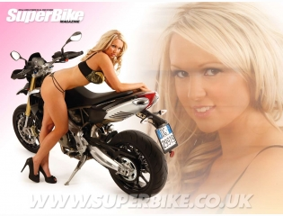 Sportbike Girls Wallpaper