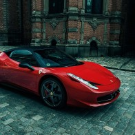 Sporty Ferrari 458 Italia Hd Wallpapers