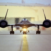 Sr71 Blackbird Head On Wallpaper