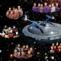 Star Trek S Heros Wallpaper