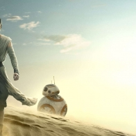 Star Wars The Force Awakens Rey Bb 8