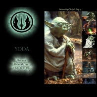 Star Wars Yoda Wds Wallpaper