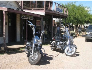 Steel Horses At Tombstone Wallpaper