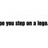 Download step on a lego cover, step on a lego cover  Wallpaper download for Desktop, PC, Laptop. step on a lego cover HD Wallpapers, High Definition Quality Wallpapers of step on a lego cover.