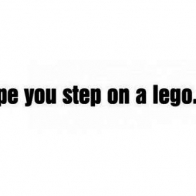 Step On A Lego Cover