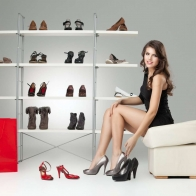 Stylish Women Shoes High Heel Shoes Wallpaper
