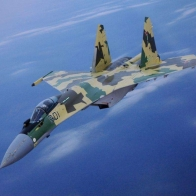 Sukhoi Su 35 Flanker Wallpaper