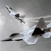 Sukhoi T50 Wallpaper