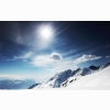 Sunny Snowy Mountains Wallpapers