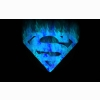 Superman Blue Flame Wallpaper