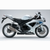 Suzuki Gsx R600 White Mix Wallpapers