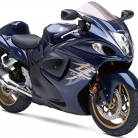 Suzuki Hayabusa In Blue Colors