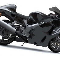 Suzuki Hayabusa Pure Black Wallpapers