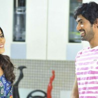 Sweet Smiling Of Genelia Dsouza And Rana Daggubati In Naa Ishtam