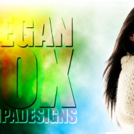 Tempa Designs Megan Fox Wallpaper