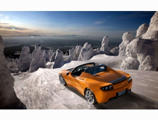 Tesla Roadster 2012 Hd Wallpapers