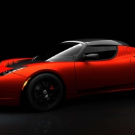 Tesla Roadster Sport Hd Wallpapers
