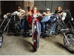 Teutuls On Custom Choppers Wallpaper
