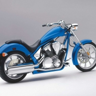 The 2010 Honda Fury Chopper Wallpapers