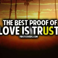 The Best Proof Of Love Cover