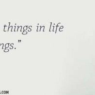 The Best Things In Life Arent Things Cover