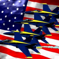 The Blue Angles Wallpaper