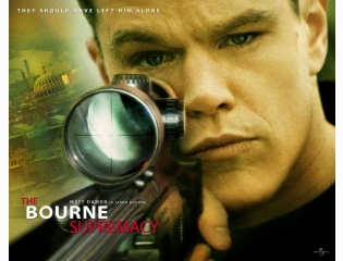 The Bourne Supremacy Wallpaper