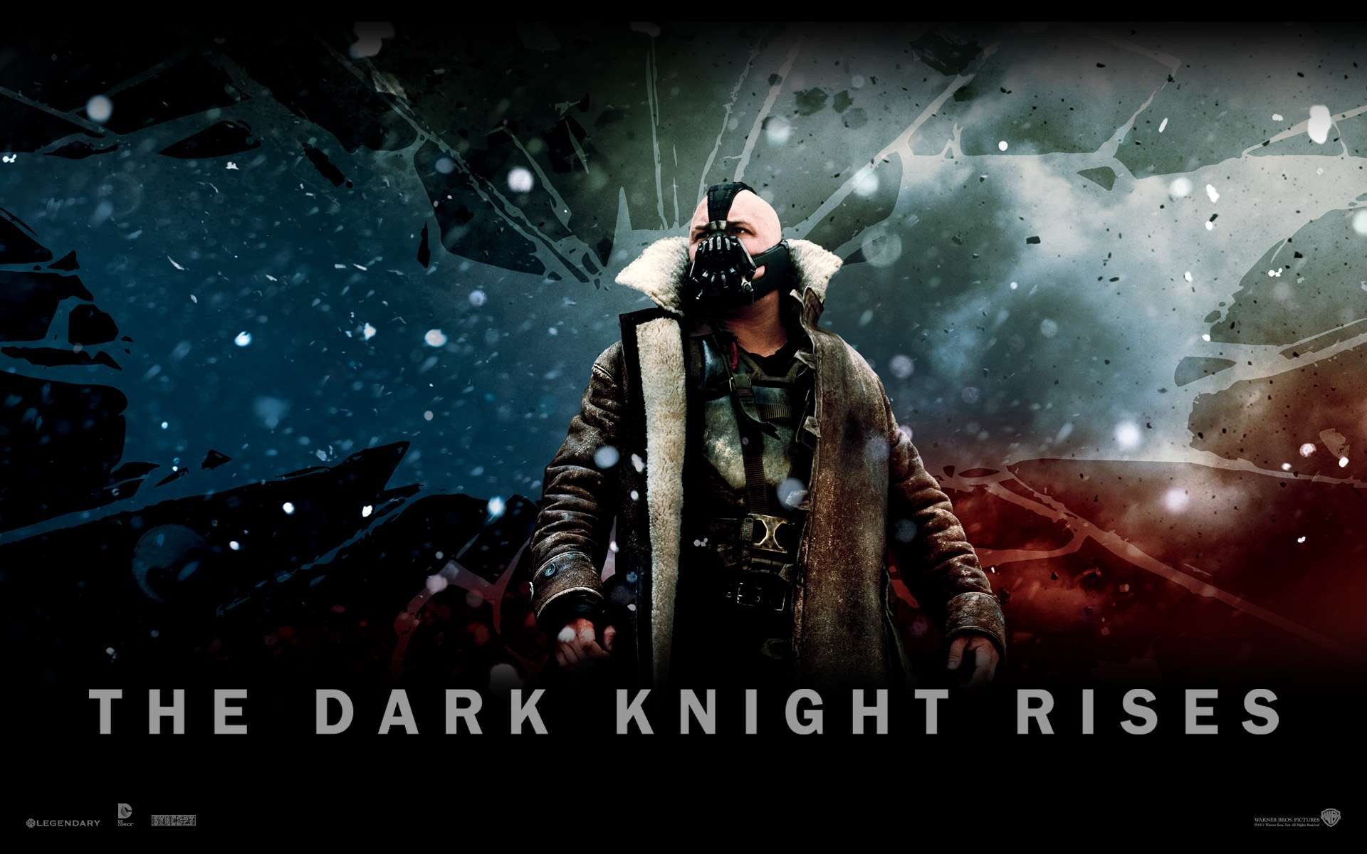 The Dark Knight Rises Official 2 Wallpapers