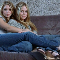The Olsen Twins Wallpaper