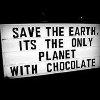 The Only Planet With Chocolate Cover