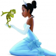 The Princess The Frog Wallpaper