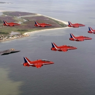 The Red Arrows The Raptor