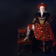 The Red Queen Helena Bonham Carter Wallpaper