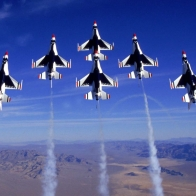 The Thunderbirds F 16 Wallpaper