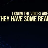 The Voices Arent Real Cover
