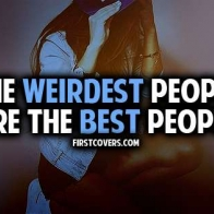 The Weirdest People Are The Best People Cover