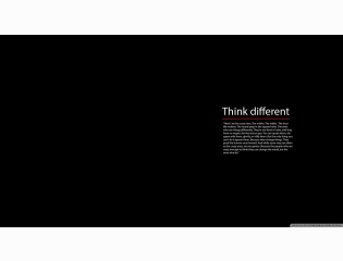 Think Different Wallpaper