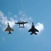 Three Generations Of Air Force Wallpaper