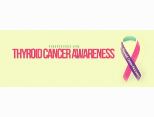 Thyroid Cancer Awareness Cover