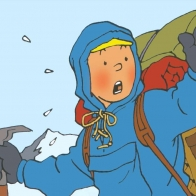 Tintin Au Tibet Wallpaper