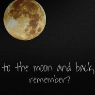 To The Moon And Back Remember Cover