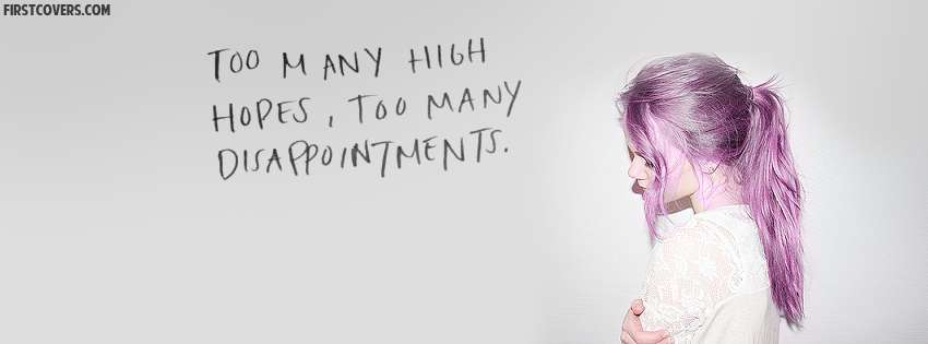 Too Many High Hopes Too Many Disappointments Cover