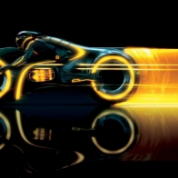Tron Legacy Bike Wallpaper