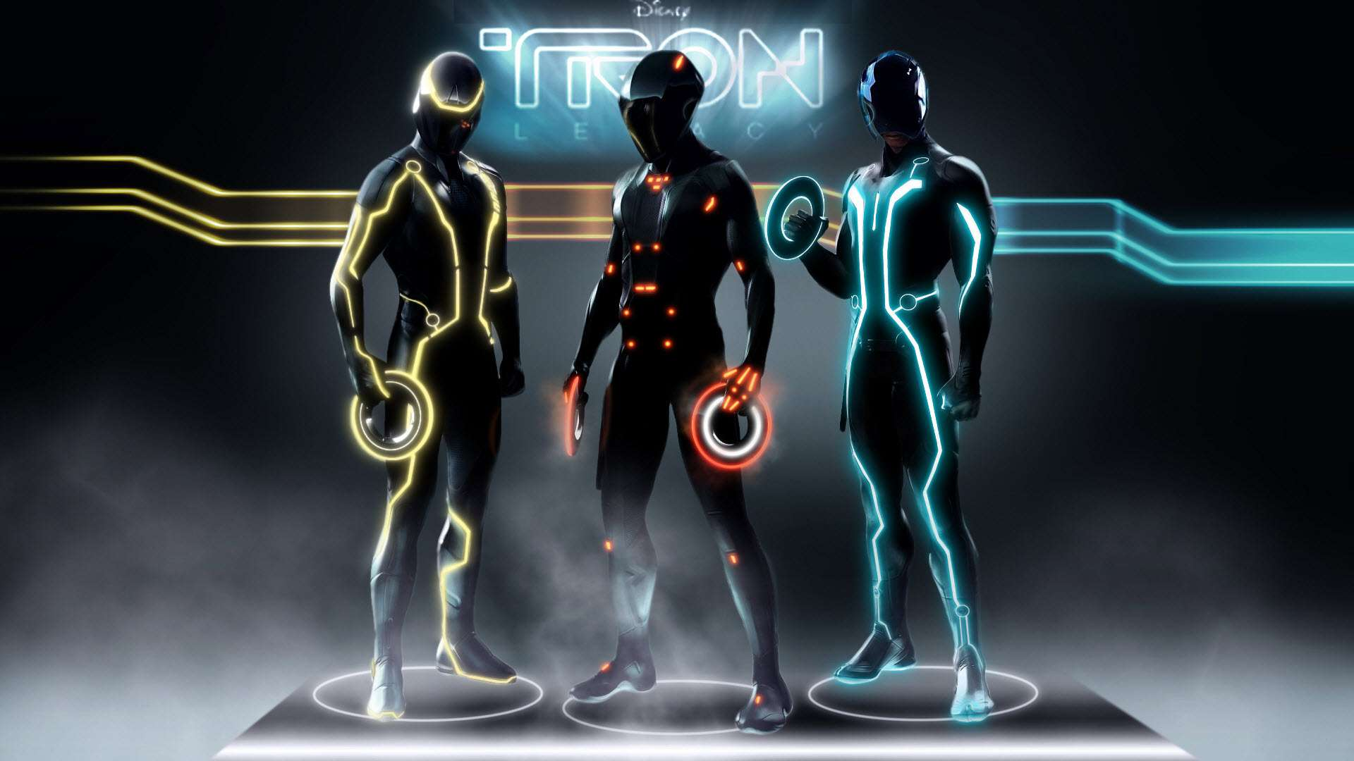 Tron Legacy Characters Wallpapers