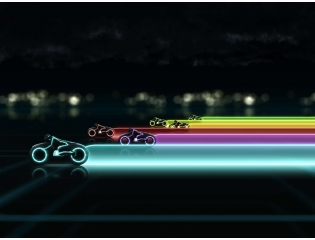 Tron Legacy Lightcycle Race Wallpapers