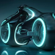 Tron Light Cycle Wallpaper