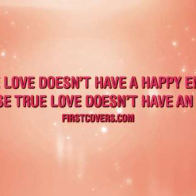 True Love Quote Cover