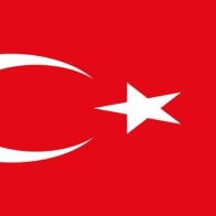 Turkey Flag Cover