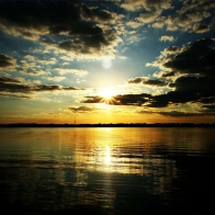 Twilight At Sunset Widescreen Wallpapers
