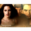 Twilight New Moon Love Triangle Wallpaper
